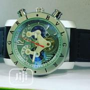Classic BULGARI Wristwatch With Genuine Leather   Watches for sale in Lagos State, Lagos Island