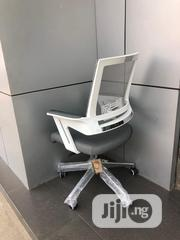 Gray Mesh Swivel Office Chair | Furniture for sale in Lagos State, Lekki Phase 1