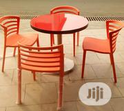New Model Restaurant/Bar Set of Table With 4 Chairs(Round and Square)   Furniture for sale in Ekiti State, Ado Ekiti