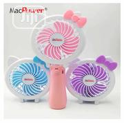Macpower Portable Rechargeable Hand-held Mini Fan | Home Appliances for sale in Lagos State, Alimosho