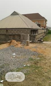 Halfplot Of Land With Building Onit At Greenfield Estate Ago For Sale | Land & Plots For Sale for sale in Lagos State, Isolo
