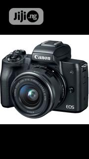 Canon Eos M50 With 15- 45mm | Photo & Video Cameras for sale in Lagos State, Ikeja