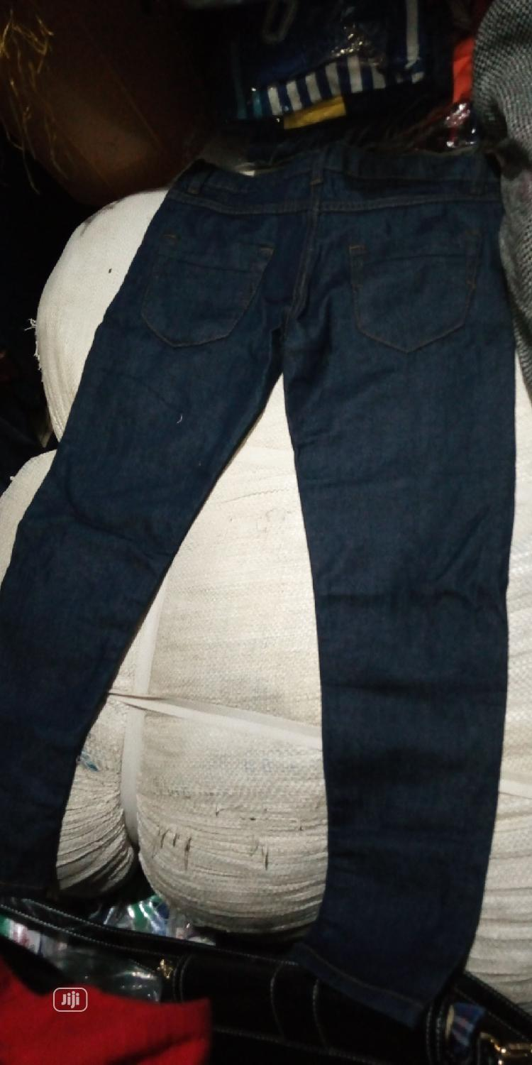 Stock Jean Trousers