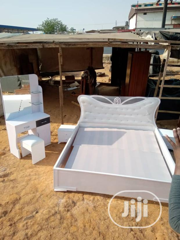 Smart Bedframe With Dressing Mirror Nd 2 Bed Stool