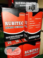 High Quality 2v 500ah Rubictec Inverter Battery | Electrical Equipment for sale in Lagos State, Ojo