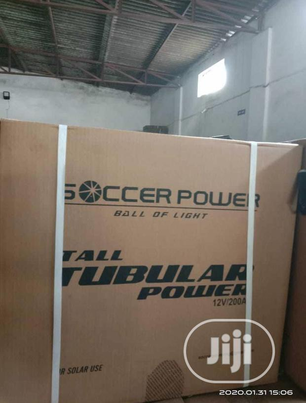 Original Indian Soccer Power Tubular Battery 200ah Tested And Trusted