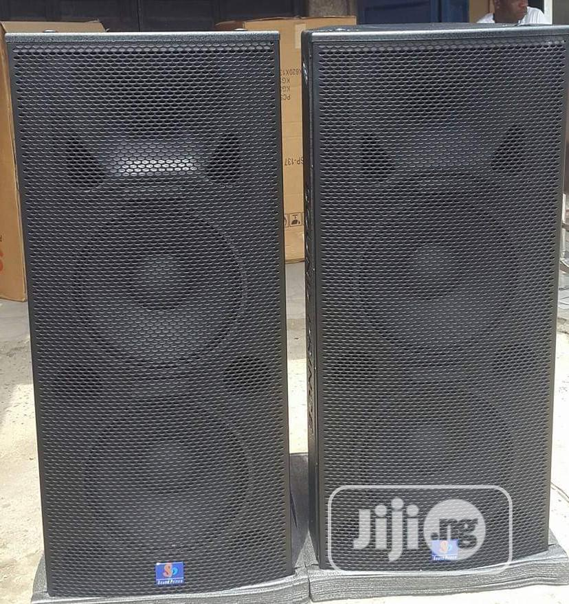 High Quality SOUND PRINCE Double Speaker