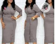 Fitted Female Office Gown | Clothing for sale in Lagos State, Ikeja