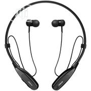 Sport Fusion Wireless Bluetooth Stereo Earbuds/Ear Piece - Black | Headphones for sale in Lagos State, Lagos Island