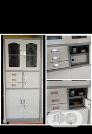 Metal Bookshelve With Drawers | Furniture for sale in Lagos State, Ojo