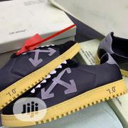 Off_white Vulcanized Black Brown Sole Sneakers | Shoes for sale in Lagos State, Lagos Island