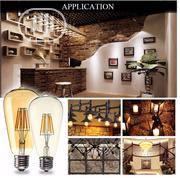 Vintage Antique/Retro Edison LED Bulb 4-8w St64 | Home Accessories for sale in Lagos State, Lagos Island