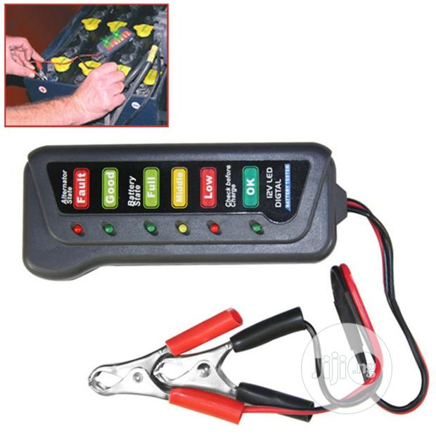 Archive: 12V Car Battery & Alternator Tester - Test Condition(LED Indicator)