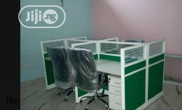 Affordable Office Workstation Table 4seater