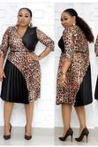 New Female Vneck Flare Gown | Clothing for sale in Ikoyi, Lagos State, Nigeria