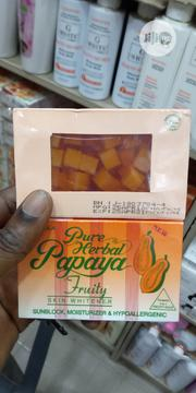 Pure Herbal Papaya Soap (3 Pieces) | Bath & Body for sale in Lagos State, Lagos Island