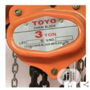 Toyo Manual Chain Hoist/Block -3tons | Manufacturing Equipment for sale in Lagos State, Ojo