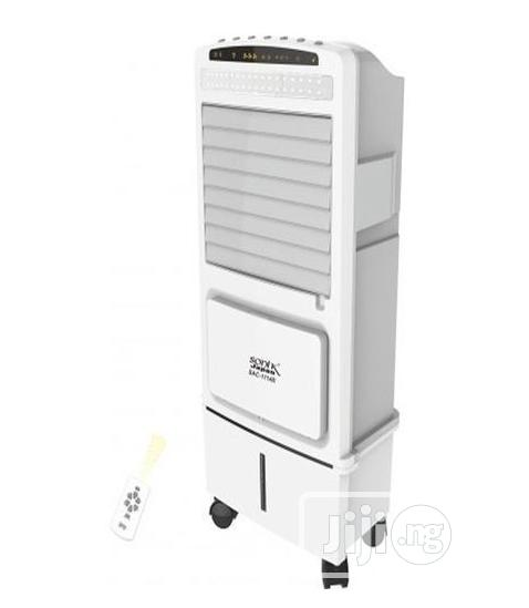 Sonik Rechargeable Air Cooler With Remote Control And Mobile Wheel