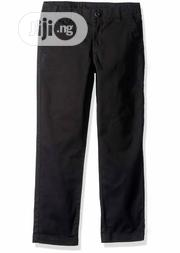 Crazy 8 Boys Black Tapered Chinos Trouser - 4Y   Children's Clothing for sale in Lagos State, Surulere