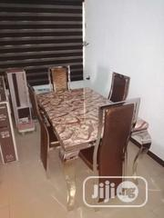 Marble Dining Table With Chair | Furniture for sale in Lagos State, Victoria Island