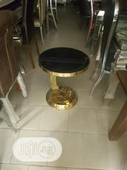 Portable Gold Side Table   Furniture for sale in Lagos State, Ojo