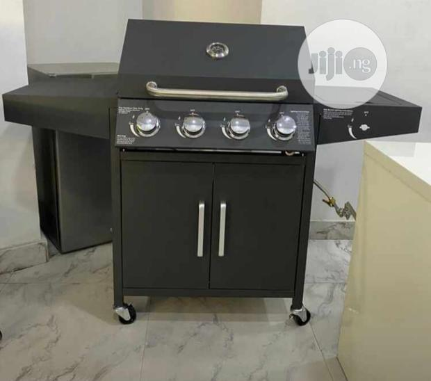 Barbecue Grill 4burner With Side Cooker (8years Warranty