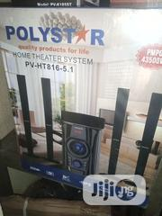 Polystar Super Ultra Filtered Sound Home Theatre - Pv-Ht586-5.1   Audio & Music Equipment for sale in Lagos State, Ojo