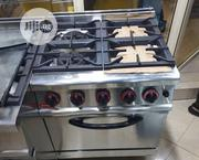 Four Burner Gas Cooker With Oven | Kitchen Appliances for sale in Lagos State, Ojo