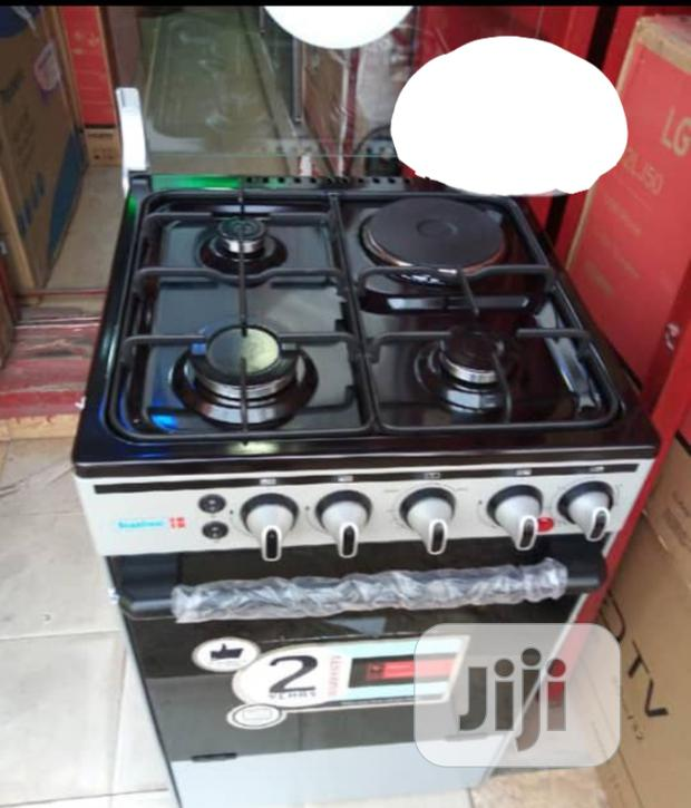 Scanfrost Cooker,3+1 , 4 Burner, One Electric And 3 Gas With Oven