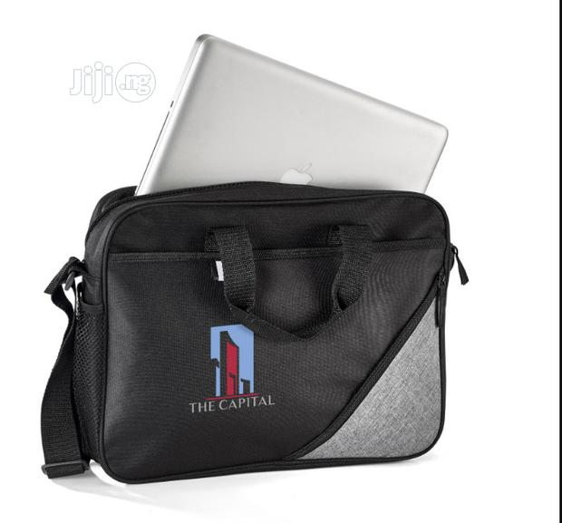 Laptop Bag-misty Hills. Can Be Branded To Suite Your Style