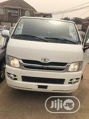 Very Clean Toyota Grandhaice 2009 White | Buses & Microbuses for sale in Lagos State, Ifako-Ijaiye