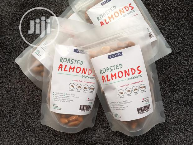 Roasted Almond Unsalted - 200g