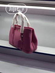 New Quality Female Pink Leather Handbag | Bags for sale in Lagos State, Victoria Island