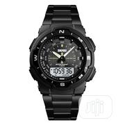 Skmei Digital and Analog Black Watch   Watches for sale in Lagos State, Agboyi/Ketu