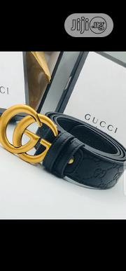 Gucci Leather Belt Original   Clothing Accessories for sale in Lagos State, Surulere