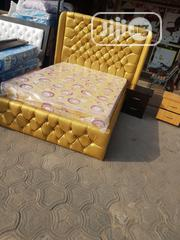 High Bedframe + Bed   Furniture for sale in Lagos State, Ojo