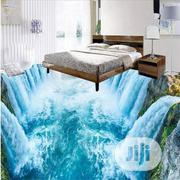 Waterfall 3D Effect Epoxy Floor at Darony Interiors   Building Materials for sale in Lagos State, Ikeja