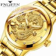 Fngeen Luxury Waterproof Luminous Dragon Wrist Watch   Watches for sale in Lagos State, Maryland