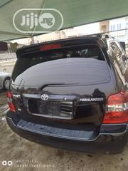 Toyota Highlander 2004 Limited V6 4x4 Black | Cars for sale in Lagos State, Oshodi-Isolo