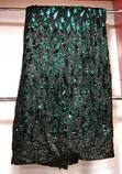 Black Nd Green Sequence Lace | Clothing for sale in Ojo, Lagos State, Nigeria