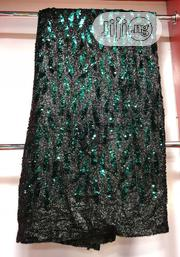 Black Nd Green Sequence Lace | Clothing Accessories for sale in Lagos State, Ojo