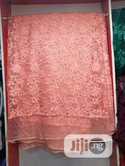 Quality Peach Big Lace | Clothing for sale in Lagos State, Ojo