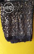 Black Gold Big Velvetine Lace | Clothing for sale in Ojo, Lagos State, Nigeria