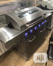 6 Burner Gas Bbq Grill With Side Cooker | Kitchen Appliances for sale in Lagos State, Ojo