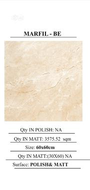 Italian High Quality 60 X 60 Floor Tiles | Building Materials for sale in Abuja (FCT) State, Dei-Dei