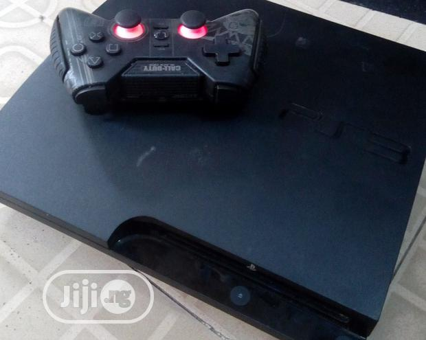 UK Used Slim Ps3 With Downloaded Games