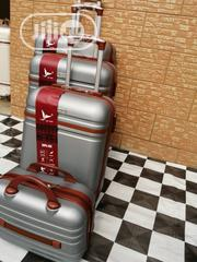 Cute Silver Color Trolley Travel Luggage Bags (4 Sets) | Bags for sale in Lagos State, Ikeja