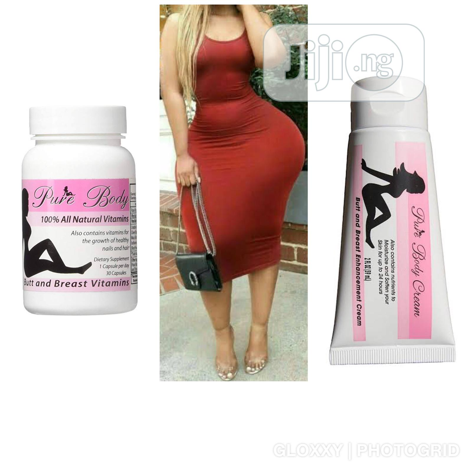 Pure Body Butt And Breast Enhancements Pills