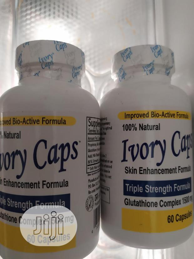 Archive: Ivory Caps Make You Fair, Smooth Skin Naturally