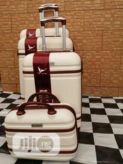 Carry On Trolley Suite Case Luggage Bags (4 Sets) Cream Color | Bags for sale in Lagos State, Ikeja